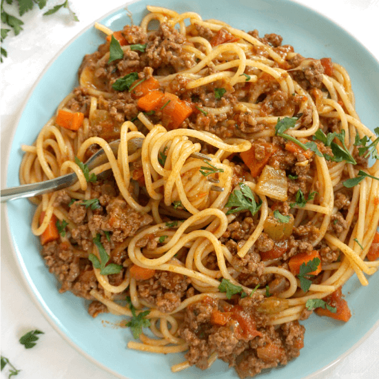 Deliciously Easy Spaghetti Bolognese Recipe My Gorgeous Recipes