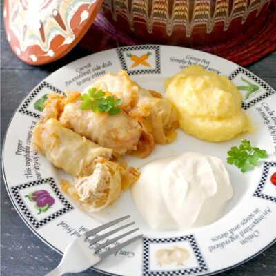 Stuffed Cabbage Rolls (Romanian Sarmale)