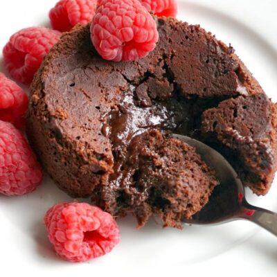 Individual Chocolate Lava Cakes