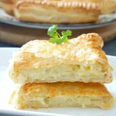 Potato, Cheese and Onion Pasty