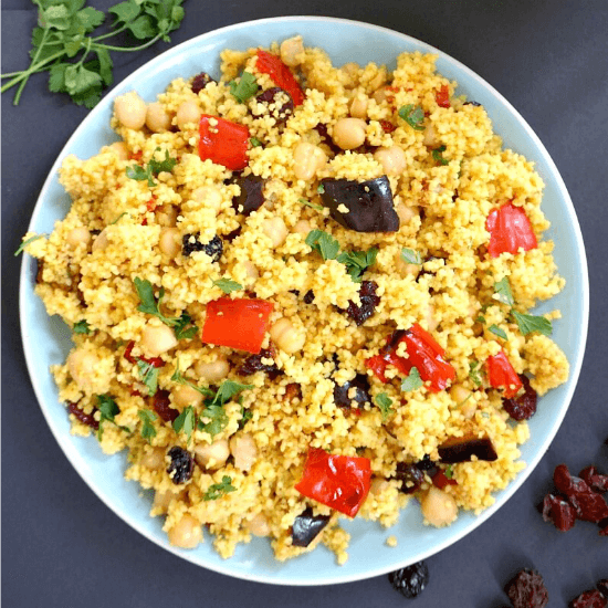 Moroccan Couscous Salad With Chickpeas My Gorgeous Recipes