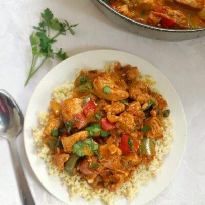Easy One-Pot Chicken Goulash