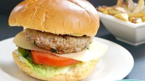 Healthy Tarragon Turkey Burgers My Gorgeous Recipes