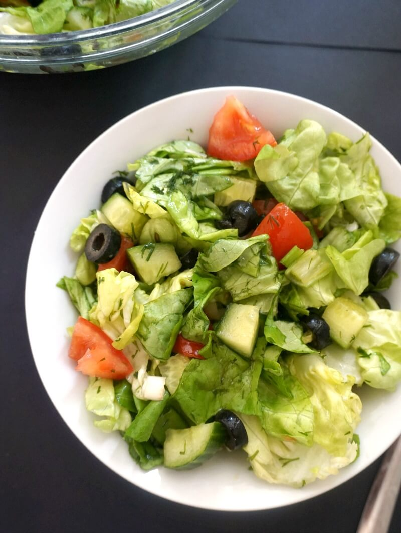 Simple Green Salad My Gorgeous Recipes Salads