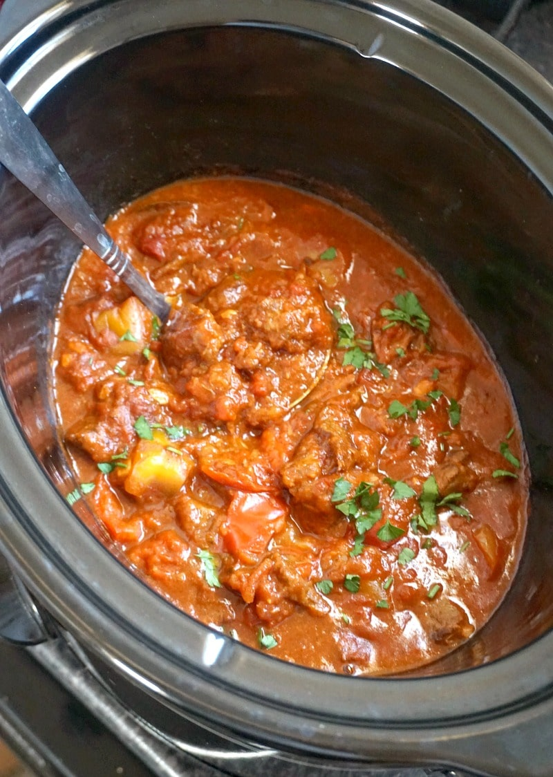 Slow Cooker Hungarian Beef Goulash My Gorgeous Recipes
