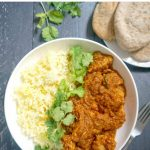 Chicken Rogan Josh Recipe, an easy chicken curry full of flavour. It's ready in about half an hour, and it's as good as the take-away version, but a lot healthier.