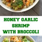 Honey Garlic Shrimp with Broccoli, a super healthy stir fry that is packed with fantastic flavours. Quick and easy to make, perfect for a midweek dinner for two.