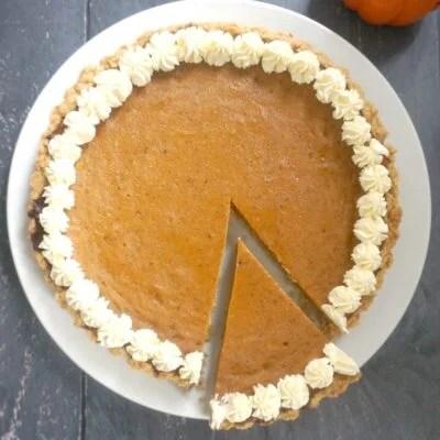 Easy Pumpkin Pie with Condensed Milk