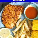 Nando's Peri Peri Butterfly Chicken Breast Recipe, one of the most delicious chicken recipes. Why not make it at home, it's super easy to make, and it tastes just like the real deal. Serve it with fries and corn on the cob for a full Nando's experience. The peri peri marinade is what gives the chicken a unique flavour, and makes it a fantastic chicken recipe every single time. The homemade peri peri chicken tastes just like the restaurant one. #periperichicken, #chickenrecipe, #periperimarinade