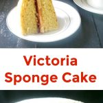 Mary Berry's Victoria Sponge Cake with buttercream or Victoria Sandwich Cake, a truly British classic dessert for a traditional tea party. Super easy to make, and heavenly delicious!
