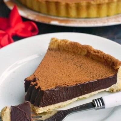 Fudgy Dark Chocolate Tart