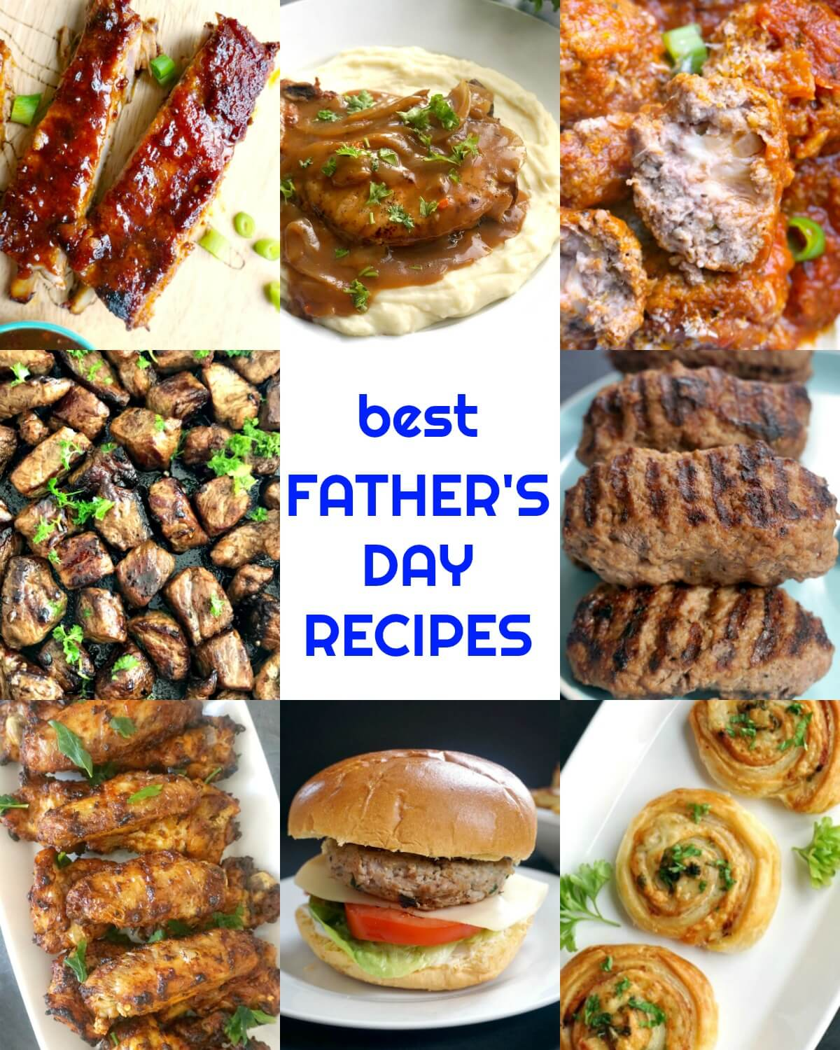 Collection of Father's Day Recipes