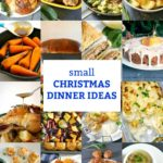 Collection of recipes for a small christmas dinner