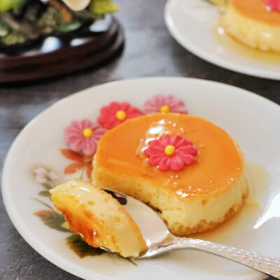 Flan without Condensed Milk Story