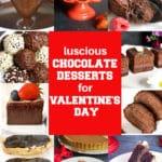Desserts for Valentine's Day
