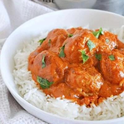 Turkey Meatball Curry