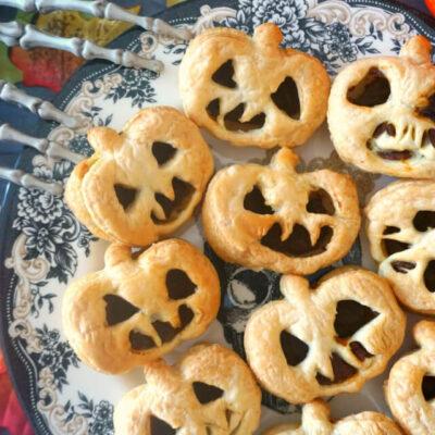 Jack O'Lantern Hand Pies