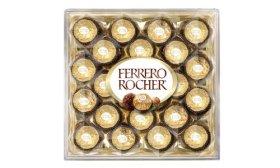 Ferrero Rocher Diamond Gift Box, 24-Count