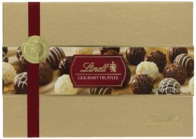 Lindt Gourmet Truffles Gift Box, 7.3-Ounce Packages
