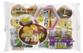 5-Style Traditional Japanese Mini-Confectionery Gift Bundle (Japanese Import)