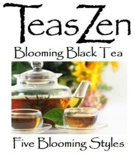 Blooming Black Tea, 5 Blooming Styles (Gift Bag)
