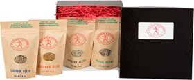Best Selling Premium PALEO LIVING PRIMAL BLENDS Collection (4-Pack Gourmet Healthy Spice Seasonings Set) can be used for Cooking, Grilling, Diet, in Kitchen, or with Cookbooks backed with 100% Customer Guarantee