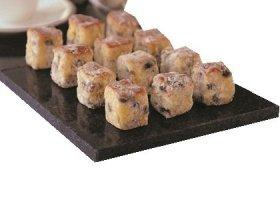 Leilalove Special Festive Stollen Bites (German Raisine Almond Enriched Holiday Bread) 1lb