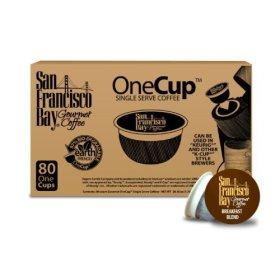 San Francisco Bay Coffee Breakfast Blend, Cups 160-One Cups (Breakfast Blend)