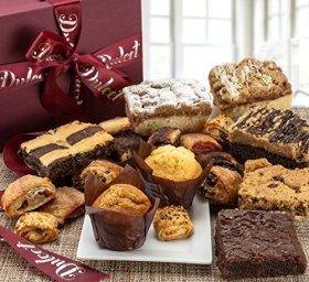 Dulcet's Gourmet Assorted Bakery Pastry Deluxe Gift Basket