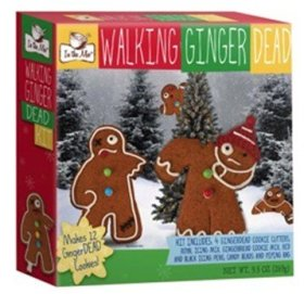 Walking Ginger Dead Undead Zombie Gingerbread Cookie Kit