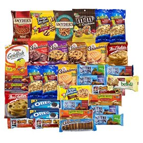 Sweet And Salty Care Package Variety Pack Bulk Sampler (36 Count)