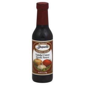Braswell's Vidalia Onion Steak Sauce 9.5 Oz