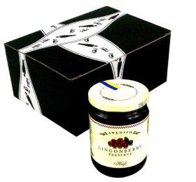 Hafi Lingonberry Preserves, 14.1 oz Jar in a Gift Box