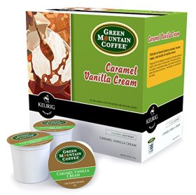 M.Block & Sons 00750 18 Count Carmel Vanilla K Cup, White