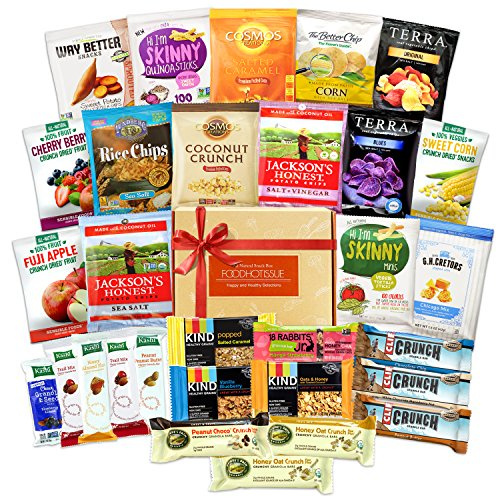 Healthy Snacks Care Package Variety Pack Bundle Assortment (30 Count)