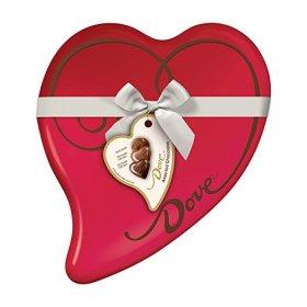 DOVE Assorted Chocolates 8.13-Ounce Valentine Heart Tin