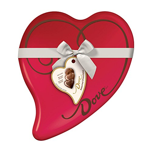 DOVE Assorted Chocolates 8.13-Ounce Valentine Heart Tin