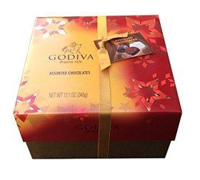 Godiva Chocolatier Assorted Belgian Chocolates Gift Box