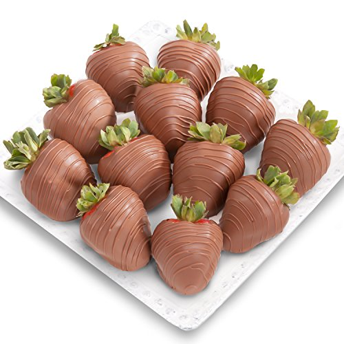 Golden State Fruit Chocolate Covered Strawberries, 12 Magical Milk