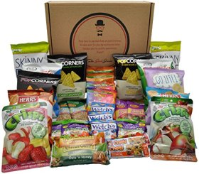Healthy Snacks Care Package by The Good Grocer (30 Count)