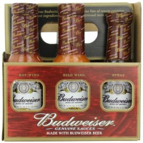 Budweiser Genuine Sauces Gift Set