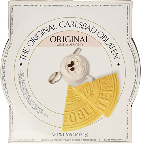 The Original Carlsbad Oblaten 6.75 Oz. Gift Tin, Vanilla-almond
