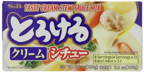 S&B Tasty Cream Stew Sauce Mix, 5.6 Ounce