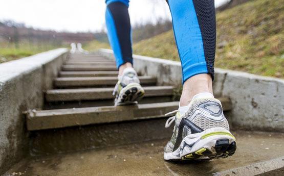 cu vene varicoase mergeți în jos pe trepte