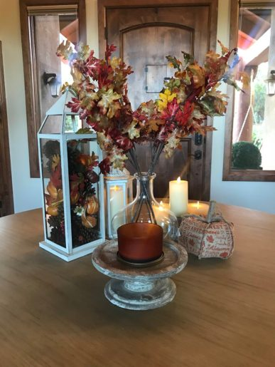 Entry Fall Table