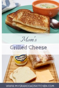 This classic comfort food will take you back to your childhood with three simple ingredients. This classic grilled cheese has a crispy bread crust with a gooey cheese center that is simple but oh so good.