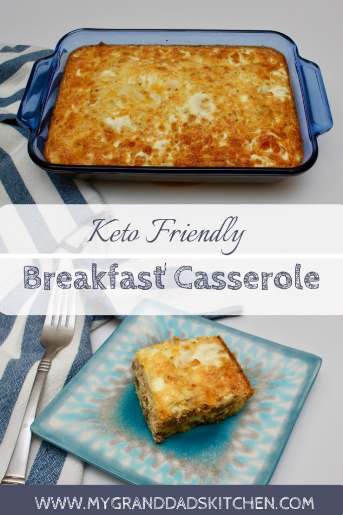 This quick and easy Keto friends breakfast casserole, is hearty, full of flavor and never disappoints. Great for a weekend brunch with family and friends.