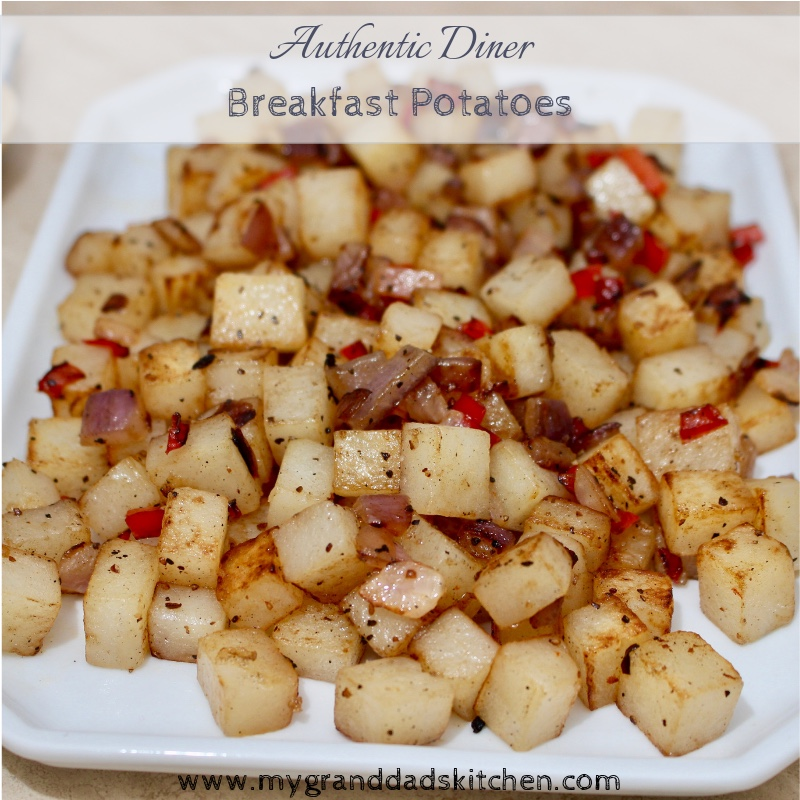 Authentic Diner Style Breakfast Potatoes