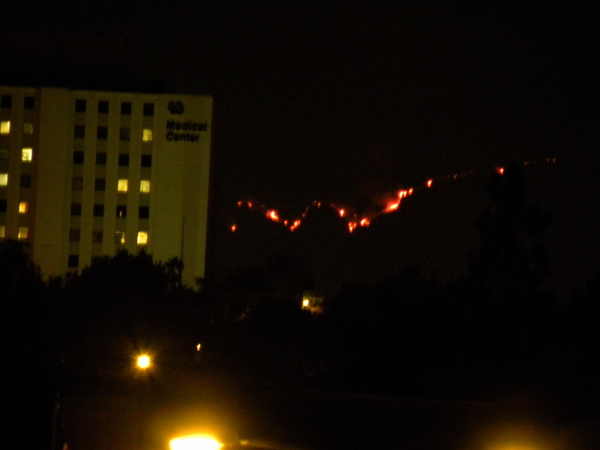 Station Fire From Long Beach 1