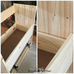IKEA Rast frame drawer